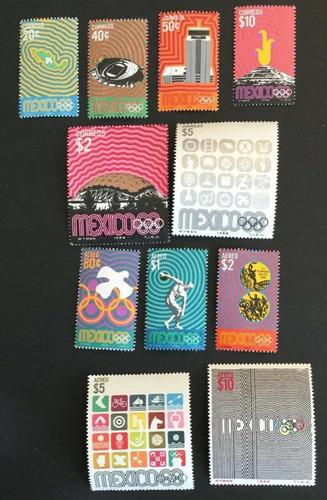 Imagen 1 de 1 de México 1968 : Xix Juegos Olímpicos , Poster Y Emblemas