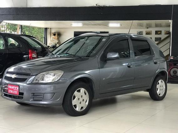 Chevrolet Celta Lt 1.0 2012 4 Portas Cinza