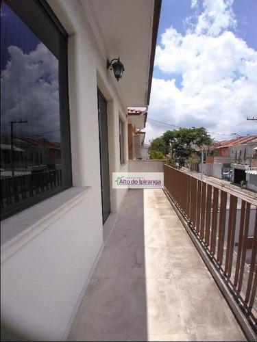 Imagem 1 de 24 de Sobrado Com 4 Dormitórios Para Alugar, 280 M² Por R$ 5.900,00/mês - Mirandópolis - São Paulo/sp - So1119