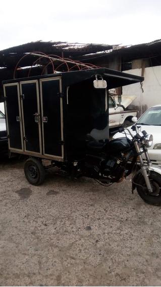 Motocarro Con Furgon Akt 180 C.c
