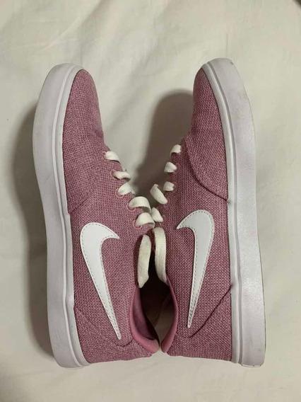 Tênis Nike Sb Feminino Pouquíssimo Usado 37 Rosa Original