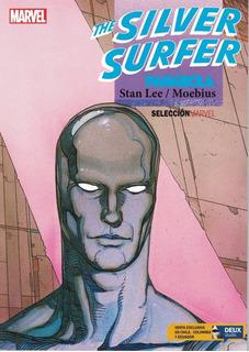 Silver Surfer Parabola Stan Lee & Moebius Tomo Unitario
