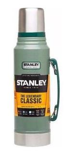 Termo Stanley Classic 1 Litro Color Verde 6 Cuotas S/interés