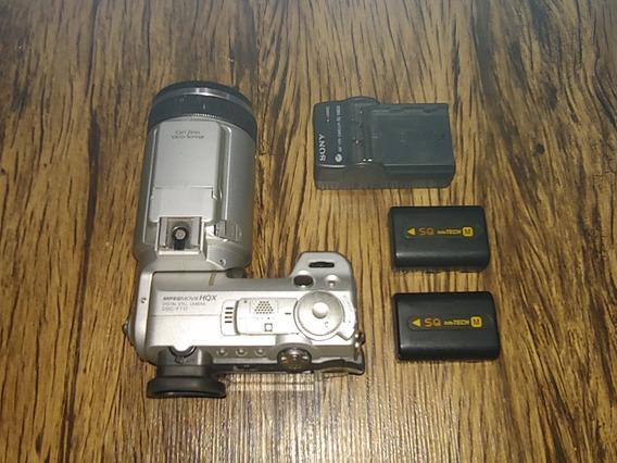 Câmera Sony Modelo Dsc F717 Com Defeito ( Não Liga ).