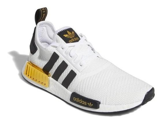 Zapatillas adidas Nmd R1 Black Gold Importadas