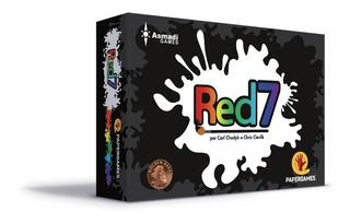 Red7 - Jogo De Cartas - Papergames