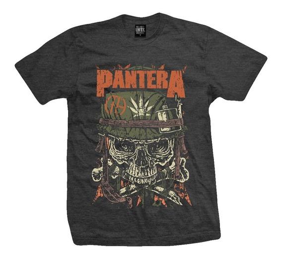 Remera Pantera - Revolution ( Melange Oscuro)