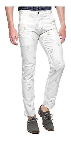 Pantalon Dockers Blanco Hombre Alpha Collection Caballero