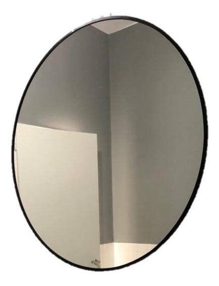 Espejo Redondo 50cm Con Marco A Elección.