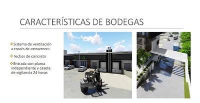 Bodegas En Renta 505m2 Con Anden De Carga Y Rampa Av.colosio
