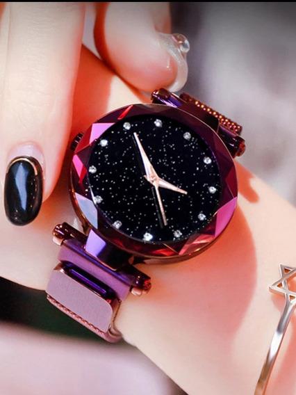 Relógio Feminino Pulseira Magnética Exclusiva