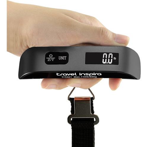 - Báscula Digital Para Equipaje Con Alerta De Sobrepeso (pa