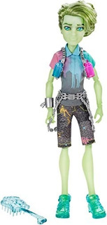 Monster High Haunted Student Spirits Porter Geiss Doll!