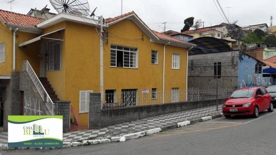 Casa Com 2 Dormitórios Para Alugar, 80 M² Por R$ 1.300,00/mês - Vila Zanela - Franco Da Rocha/sp - Ca0467