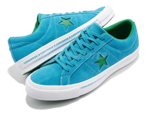 Converse One Star Gamuza Azul Océano
