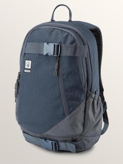 Mochila Volcom, Mod. Substrate Backpack, Navy, Army Y Black.