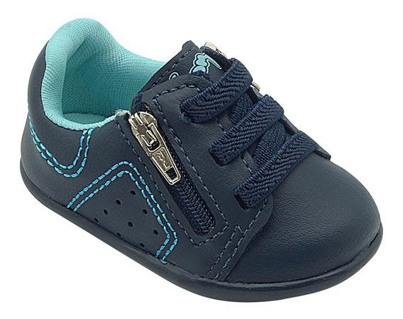 Sapato Infantil Masculino Menino Caramelo Pé Com Pé