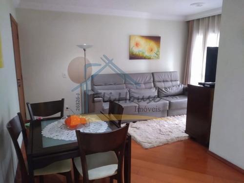 Imagem 1 de 15 de Eli House Imóveis - 26326-j | Apartamento 78m² - Vila Assunção, Santo André/sp - Ap01035 - 69185993