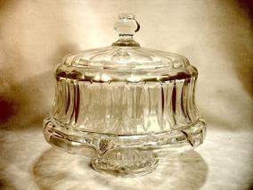 Boleira E Petisqueira 2 Em 1 Em Cristal Rara Oportunidade
