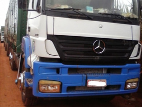 Mercedes-benz Axor 3340 6x4 Chassi Caminhão Trabalhando Bom.