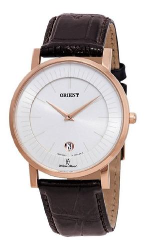 Reloj Hombre Orient Fgw0100cw0 Extraplano Zafirado Japón