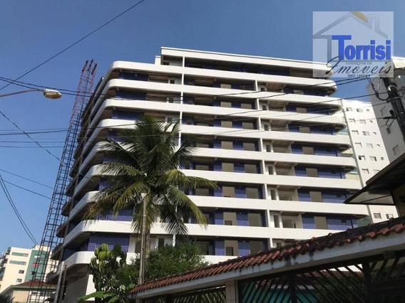 Apartamento Em Praia Grande, 02 Dormitórios Sendo 02 Suítes, Caiçara, Ap2408 - Ap2408