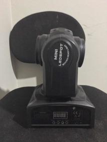 Kit Mini 2 Em 1 Led Spot Moving Head Light 40w