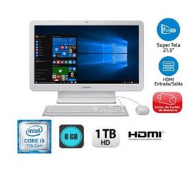 All In One Samsung Intel Core I5 7ger 8gb 1tb 21,5 Novo