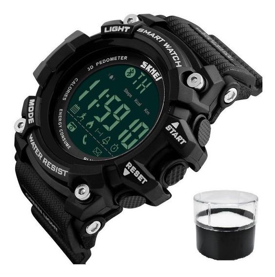 Relógio Skmei 1227 Calorias Pedômetro Bluetooth