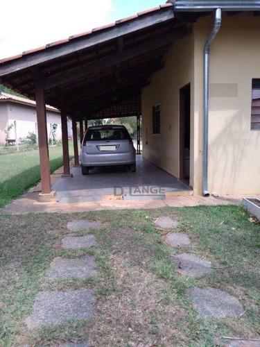 Chácara Com 3 Dormitórios À Venda, 1260 M² Por R$ 570.000,00 - Village Campinas - Campinas/sp - Ch0465