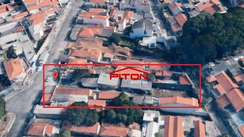 Imagem 1 de 10 de Terreno À Venda, 781 M² Por R$ 1.400.000,00 - Vila Esperança - São Paulo/sp - Te0419