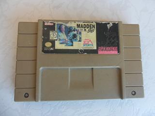 Madden 96 Para Tu Snes Made In Mexico
