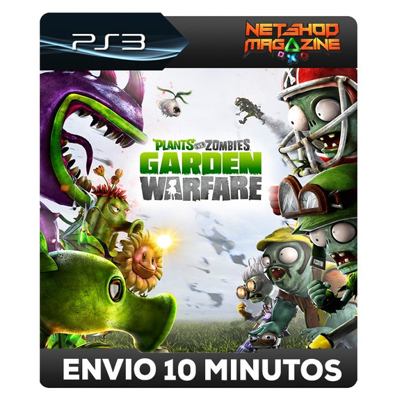 Plants Vs. Zombies Garden Warfare - Psn Ps3 - Envio Imediato