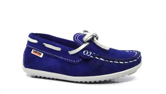 Sapato Infantil Couro Laroche Frete Gratis Azul 005474