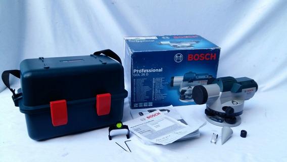 Nivel Optico Topografico Bosch Gol 26 D 26x No Sokkia Leica