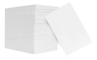 Tarjetas Pvc Paquete Con 100 Pzas Accesspro
