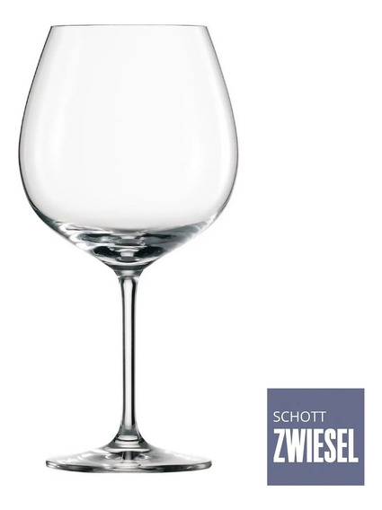Jogo 6 Tacas Cristal Borgonha Ivento 783 Ml Schott Zwiesel