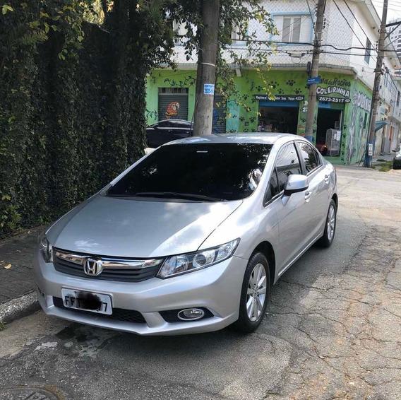 Honda Civic 2013 1.8 Lxs Flex Aut. 4p