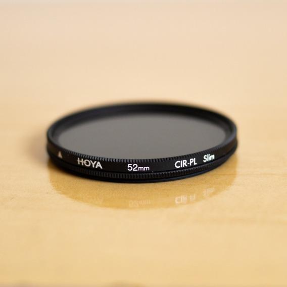 R$ 100 Filtro Polarizador Hoya 52mm