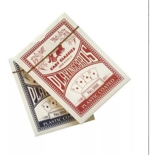 Imagen 1 de 4 de Cartas De Poker O Magia Playing Cards X Mayor X 12 Unidades