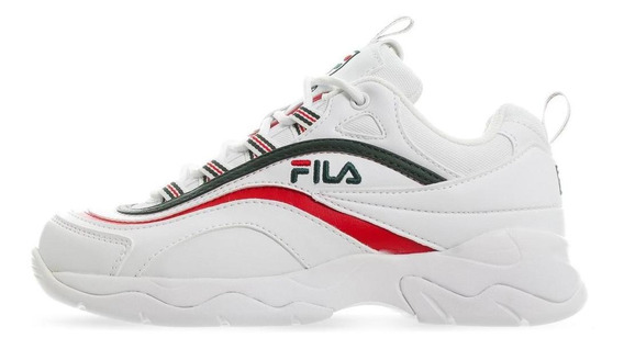 Tenis Fila Ray - 5rm00522124 - Blanco - Mujer