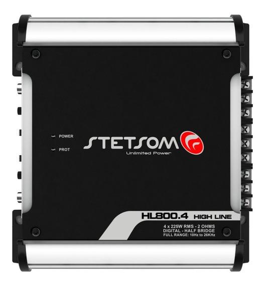 Módulo Amplificador 800x4 Hl 800.4 2 Ohms 800w Stetsom