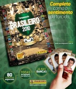 Lote 370 Figurinhas Campeonato Brasileiro 2010 Não Repetidas