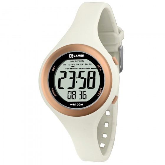 Relógio Xgames Xfppd036 Bxbx Unissex Branco - Refinado