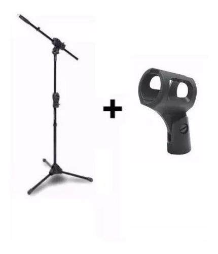 Imagem 1 de 4 de Pedestal Ibox Smmax Suporte Microfone + Cachimbo