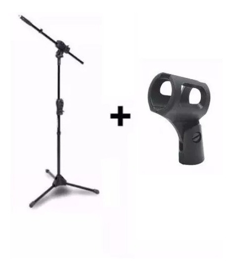 Kit Suporte Pedestal Ibox Smmax Para Microfone + Cachimbo