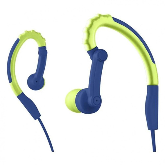 Earhook Sport Stereo Áudio Azul Pulse Ph207