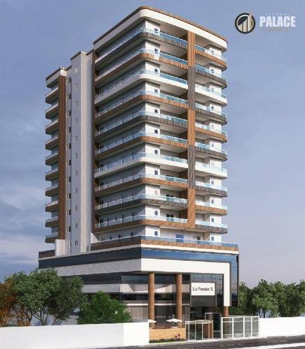 Imagem 1 de 20 de Apartamento Com 2 Dormitórios À Venda, 67 M² Por R$ 373.945,00 - Canto Do Forte - Praia Grande/sp - Ap2940