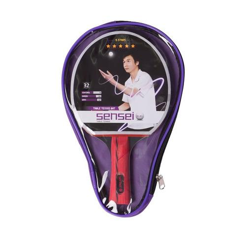 Imagen 1 de 4 de Paleta De Ping Pong Sensei 5* Estrellas - Estación Deportes