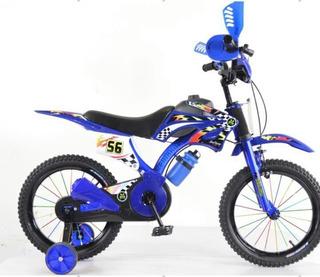 Bicicleta Tipo Moto Con Sonido R. 16